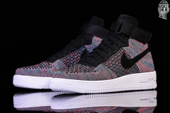 Nike Air Force 1 Ultra Flyknit Mid Trainers Hot Punch
