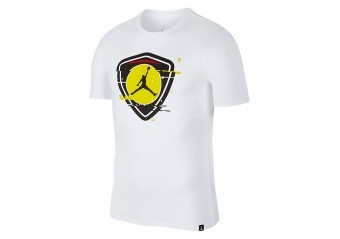 NIKE AIR JORDAN LAST SHOT TEE WHITE