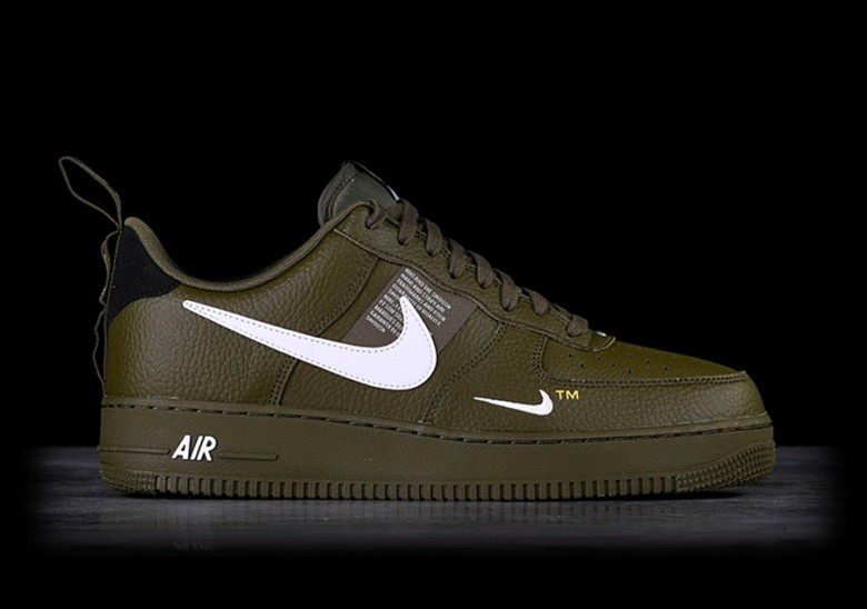 sale online retail prices best sale NIKE AIR FORCE 1 '07 LV8 UTILITY OLIVE CANVAS price €112.50 ...