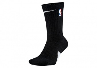 NIKE ELITE CREW - NBA SOCKS BLACK