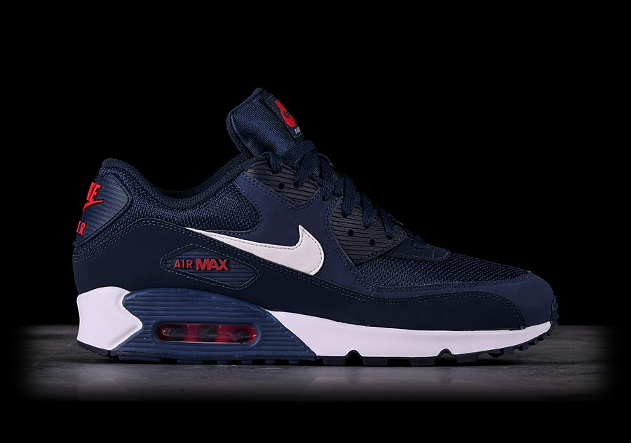 nike air max 90 essential midnight navy white Off 69%