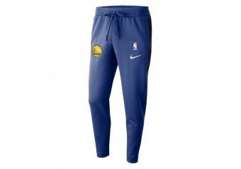 NIKE NBA GOLDEN STATE WARRIORS THERMAFLEX SHOWTIME PANTS RUSH BLUE