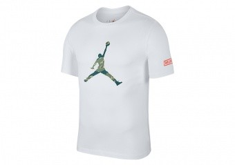 NIKE AIR JORDAN ALL STAR WEEKEND 2019 CITY OF FLIGHT 2 TEE WHITE