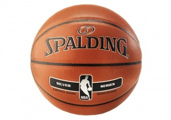 SPALDING NBA SILVER IN/OUT (SIZE 7) ORANGE