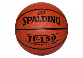 SPALDING TF-150 OUTDOOR FIBA LOGO (SIZE 5) ORANGE