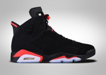 NIKE AIR JORDAN 6 RETRO BLACK INFRARED (GS)