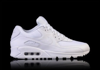 NIKE AIR MAX 90 ESSENTIAL TRIPLE WHITE