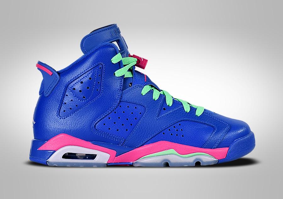 Nike Air Jordan 6 Retro GG Game Royal Blue Pink