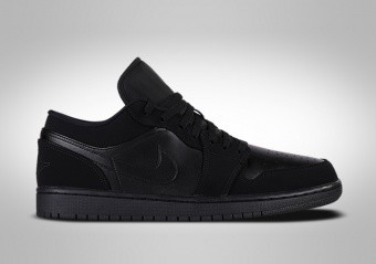 NIKE AIR JORDAN 1 RETRO LOW TRIPLE BLACK