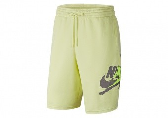 NIKE AIR JORDAN JUMPMAN CLASSICS SHORTS LUMINOUS GREEN