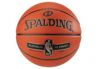 SPALDING NBA PLATINUM ZK LEGACY (SIZE 7) ORANGE