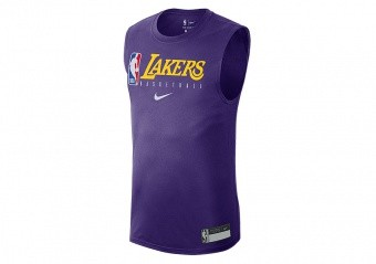 NIKE NBA LOS ANGELES LAKERS TEE COURT PURPLE