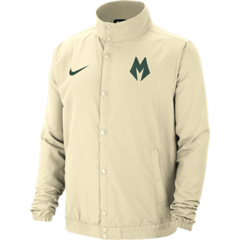 NIKE NBA MILWAUKEE BUCKS CITY EDITION JACKET FLAT OPAL