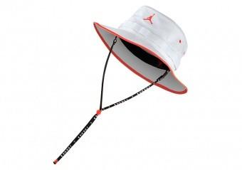 NIKE AIR JORDAN JUMPMAN BUCKET CAP WHITE