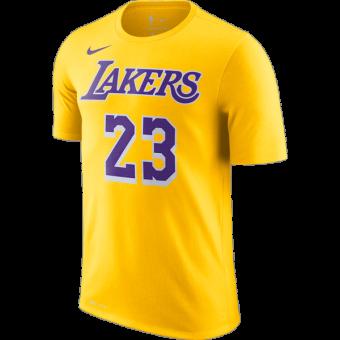 NIKE NBA LOS ANGELES LAKERS LEBRON JAMES DRY TEE