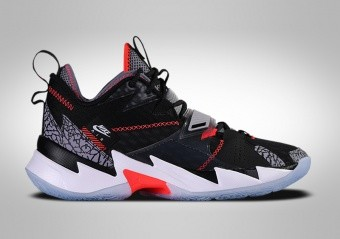 NIKE AIR JORDAN WHY NOT ZER0.3 BLACK CEMENT R. WESTBROOK