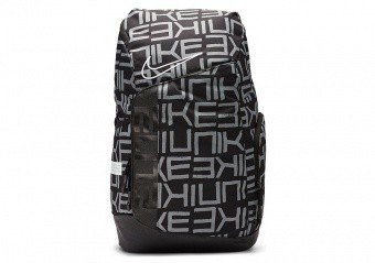 NIKE HOOPS ELITE PRO BACKPACK BLACK WHITE