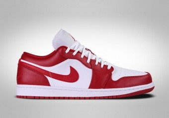 NIKE AIR JORDAN 1 RETRO LOW GYM RED WHITE