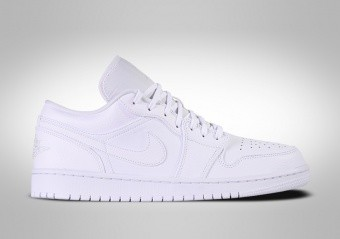 NIKE AIR JORDAN 1 RETRO LOW TRIPLE WHITE