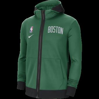 NIKE NBA BOSTON CELTICS SHOWTIME THERMA FLEX HOODIE