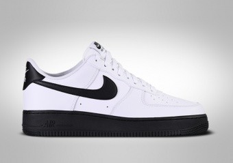NIKE AIR FORCE 1 LOW '07 WHITE BLACK MIDSOLE