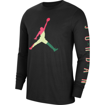 JORDAN SPORT DNA LONG SLEEVE CREW TEE
