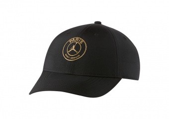 NIKE AIR JORDAN PSG PARIS SAINT-GERMAIN LEGACY91 CAP BLACK