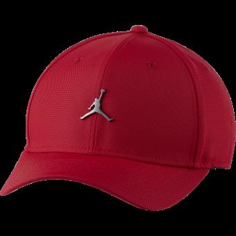 NIKE AIR JORDAN CLASSIC99 METAL JUMPMAN CAP GYM RED