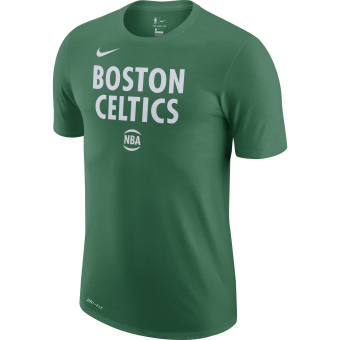 NIKE NBA BOSTON CELTICS CITY EDITION LOGO DRI-FIT TEE
