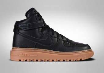 NIKE AIR FORCE 1 HIGH GORE-TEX BLACK GUM