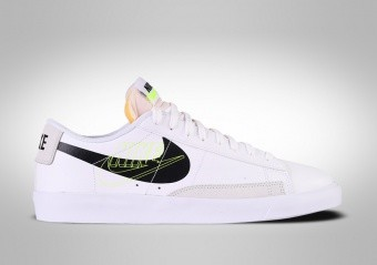NIKE BLAZER LOW RETRO BASKETBALL WHITE BLACK VOLT